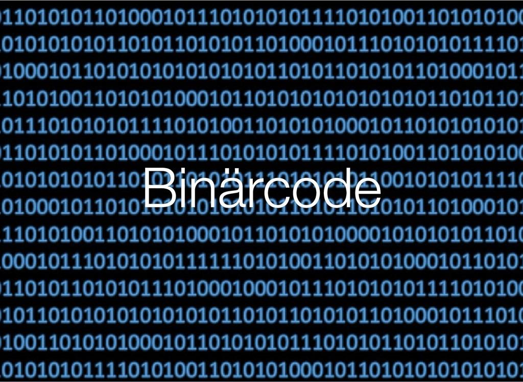 Binärcode Binärcode