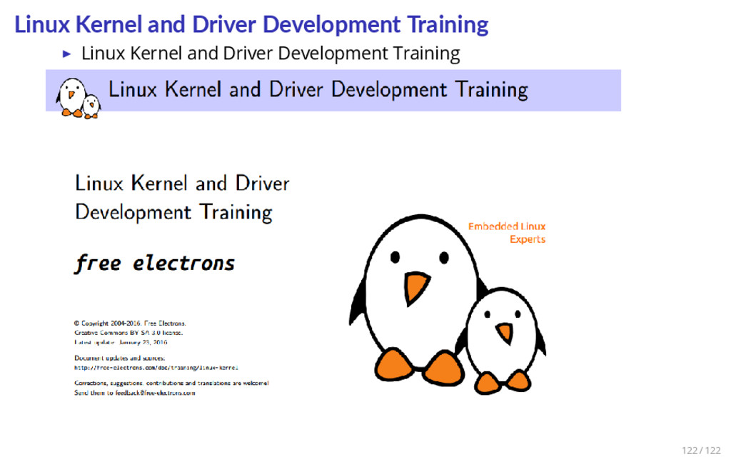 Linux Kernel and Driver Development Training ▶ ...