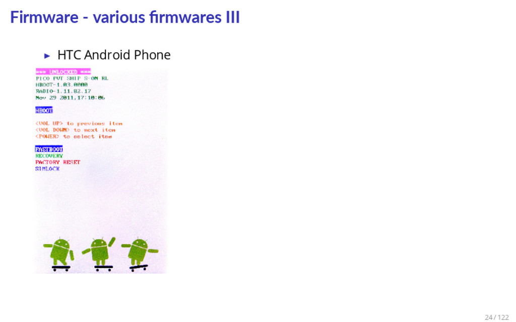 Firmware - various firmwares III ▶ HTC Android P...