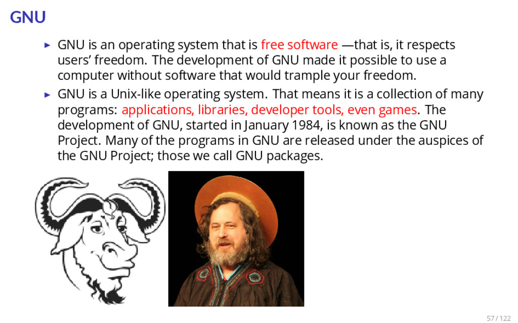 GNU ▶ GNU is an operating system that is free s...