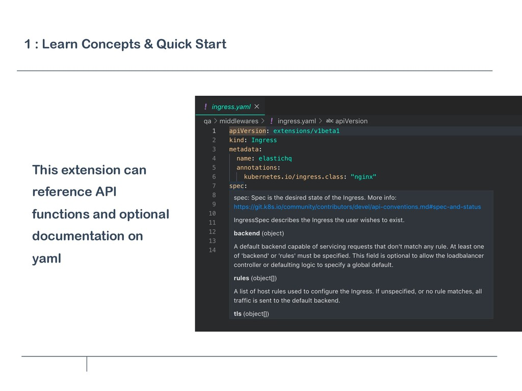 This extension can reference API functions and ...