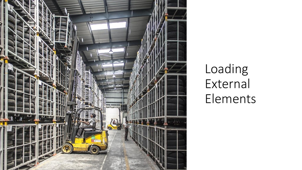 @ManfredSteyer Loading External Elements