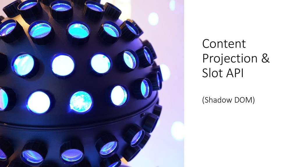 @ManfredSteyer Content Projection & Slot API (S...