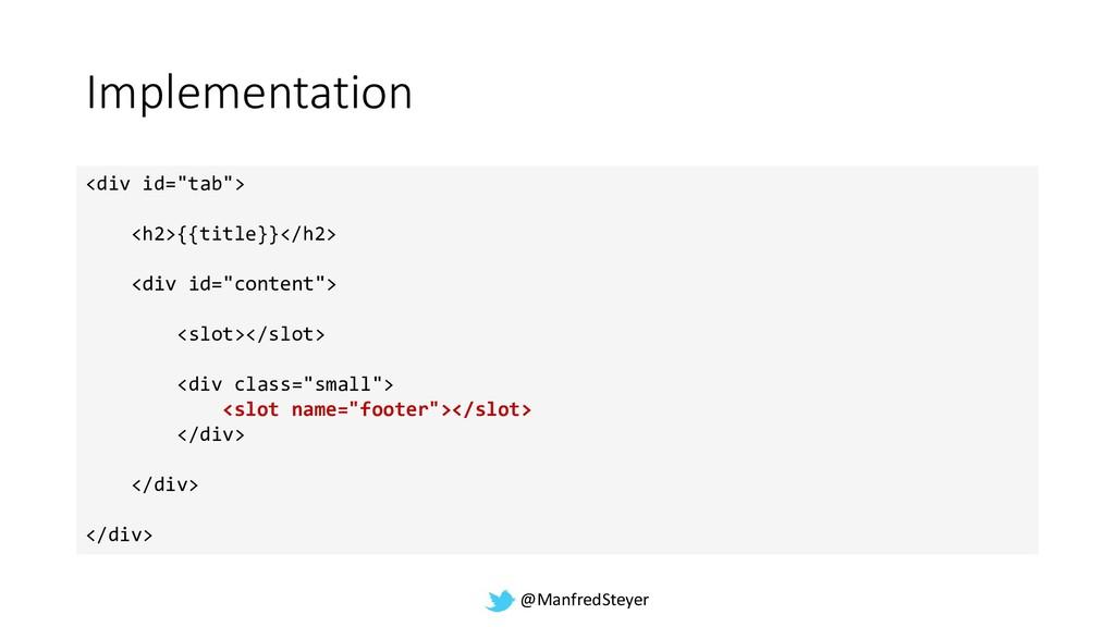 """@ManfredSteyer Implementation <div id=""""tab""""> <h..."""