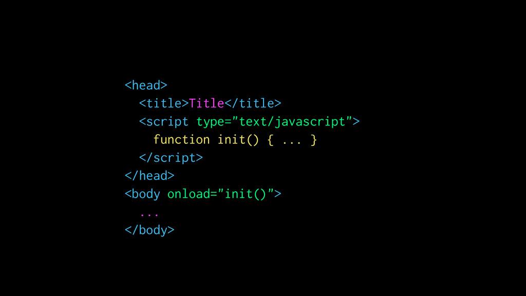 """<head> <title>Title</title> <script type=""""text/..."""
