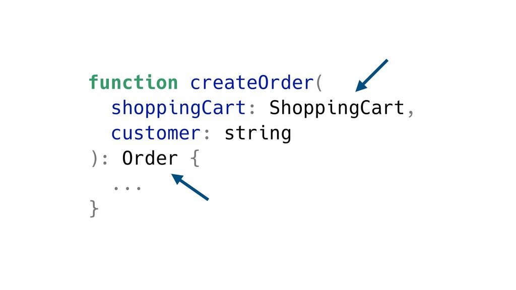 function createOrder( shoppingCart: ShoppingCar...