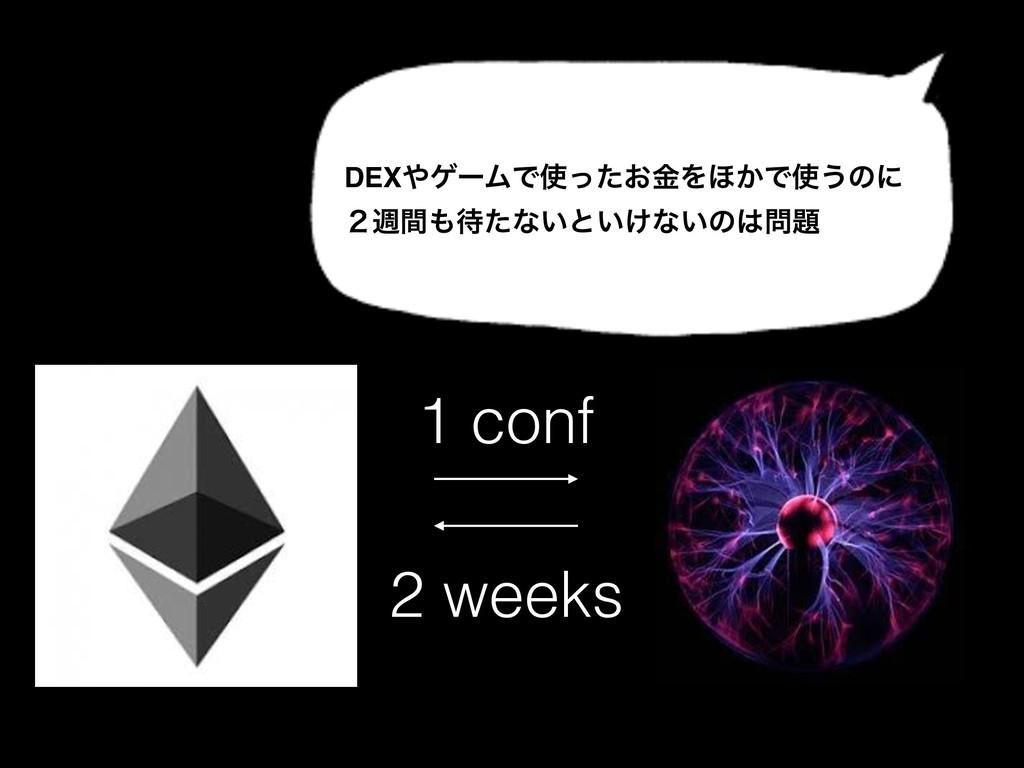 DEXήʔϜͰ͓ͬͨۚΛ΄͔Ͱ͏ͷʹ ̎िؒͨͳ͍ͱ͍͚ͳ͍ͷ 1 conf ...