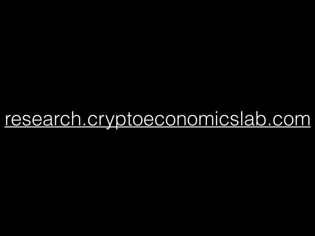 research.cryptoeconomicslab.com