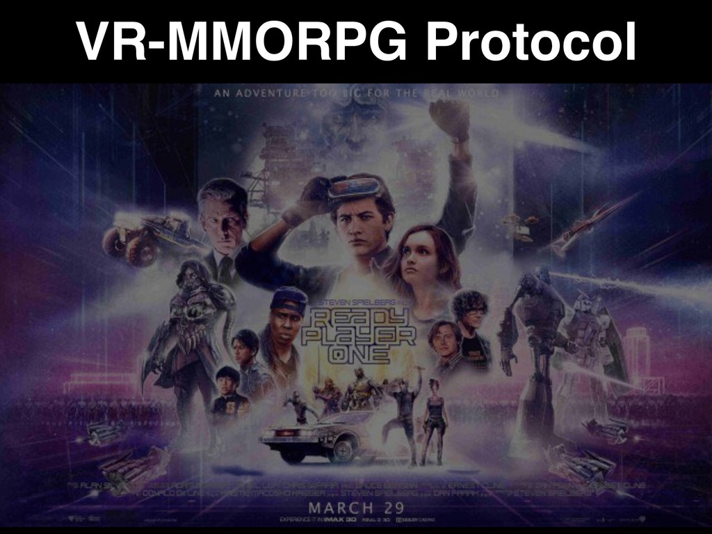 VR-MMORPG Protocol