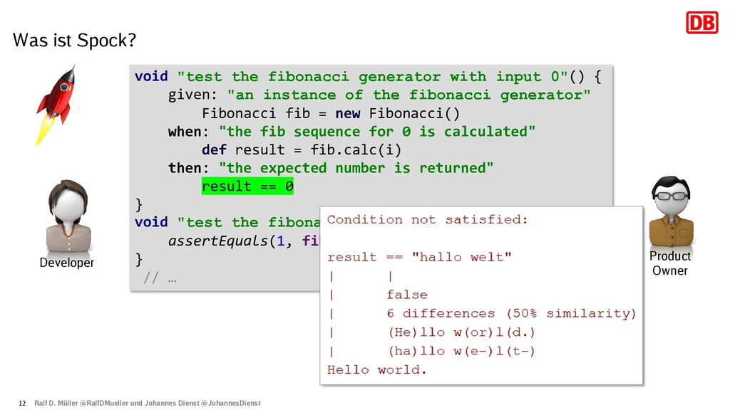 "Was ist Spock? 12 void ""test the fibonacci gene..."