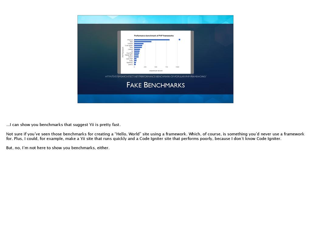 FAKE BENCHMARKS HTTP://SYSTEMSARCHITECT.NET/PER...