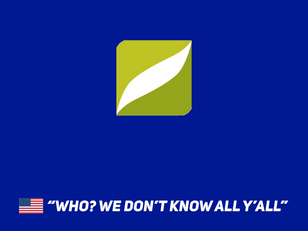 """""""WHO? WE DON'T KNOW ALL Y'ALL"""""""