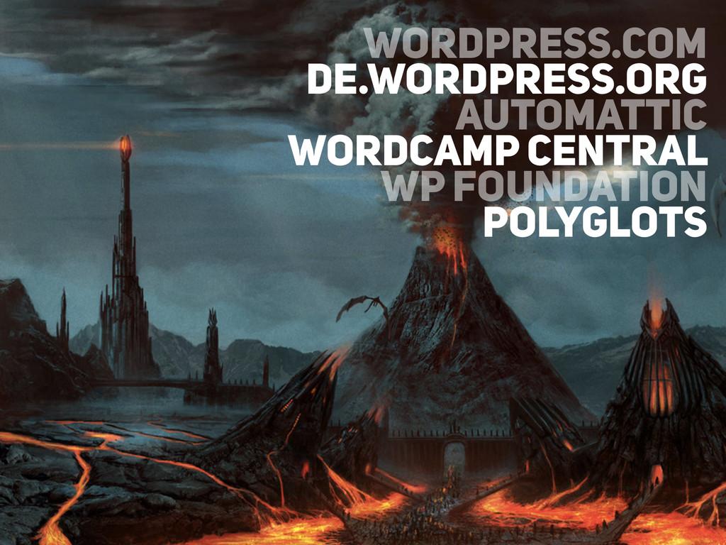 WORDPRESS.COM DE.WORDPRESS.ORG AUTOMATTIC WORDC...