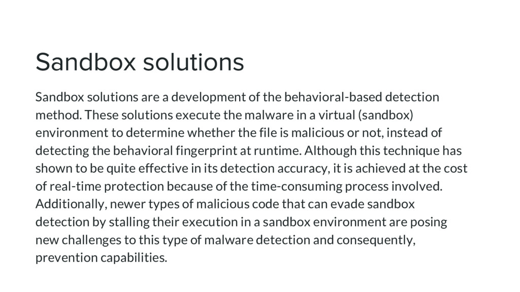 Sandbox solutions are a development of the beha...