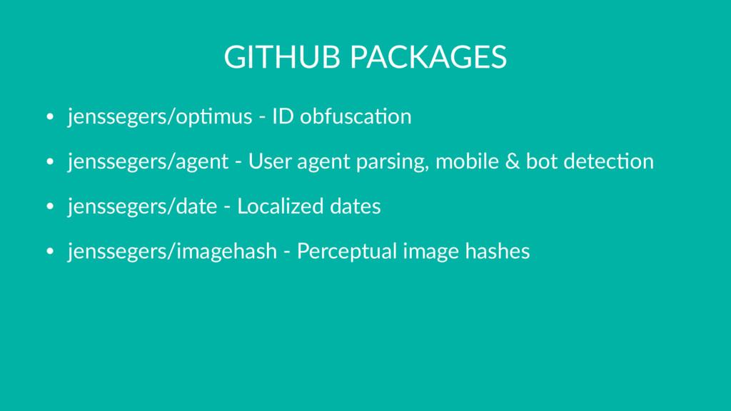 GITHUB PACKAGES • jenssegers/op+mus - ID obfusc...