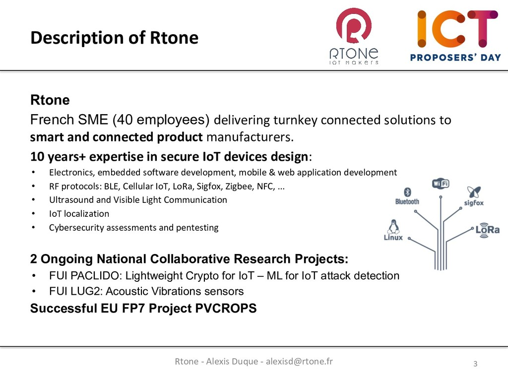 Rtone French SME (40 employees) delivering turn...