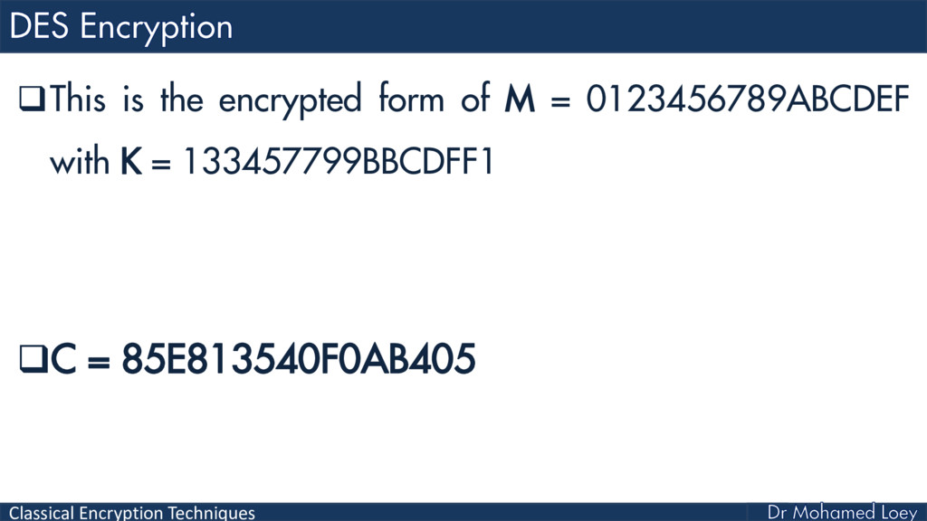 Classical Encryption Techniques This is the en...