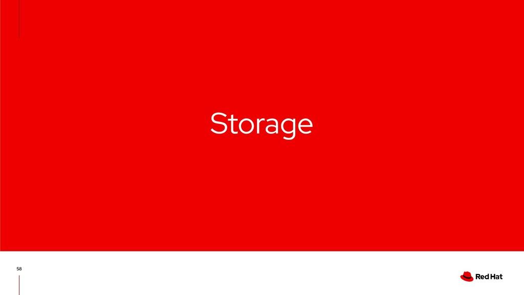 Storage 58