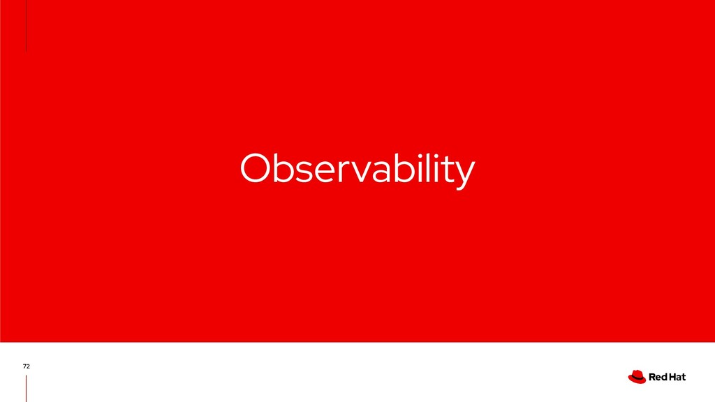 Observability 72