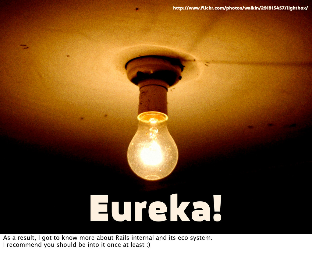 Eureka! http://www.flickr.com/photos/waikin/291...