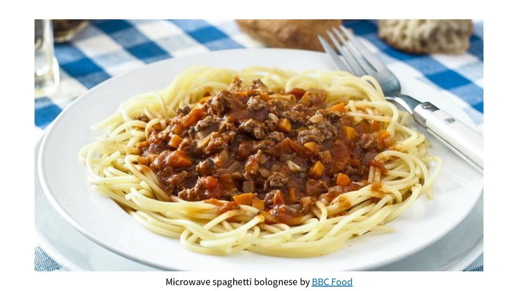 Microwave spaghetti bolognese by BBC Food