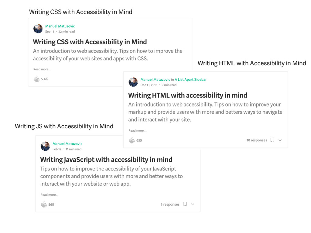 Writing CSS with Accessibility in Mind Writing ...