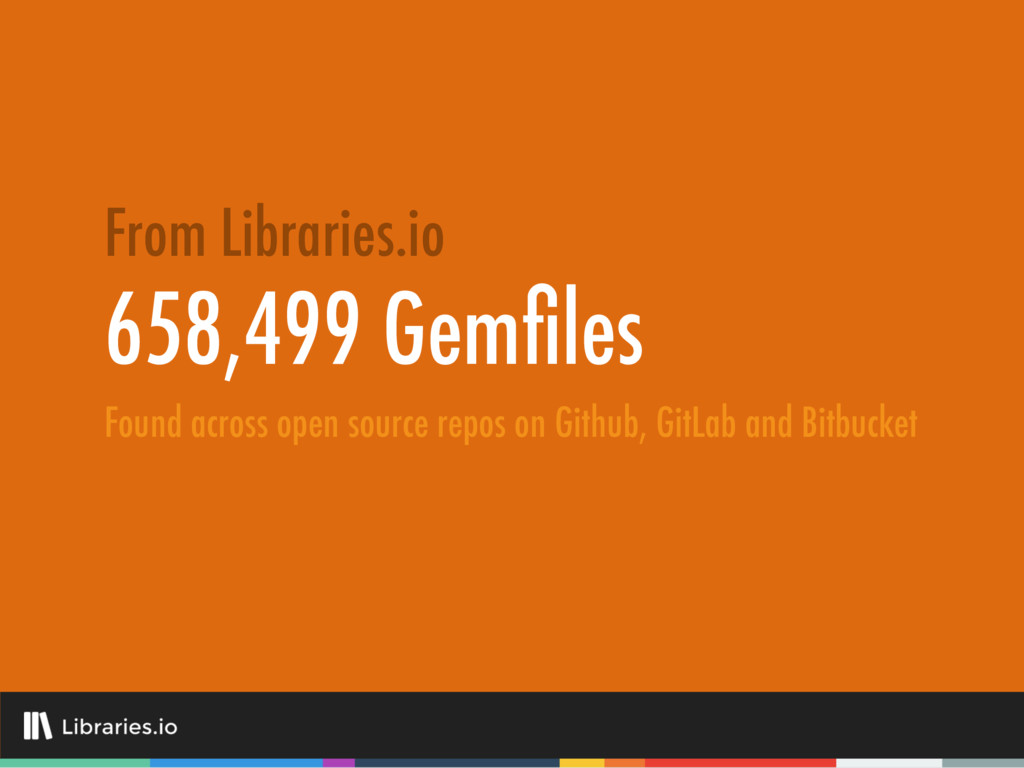 658,499 Gemfiles From Libraries.io Found across ...