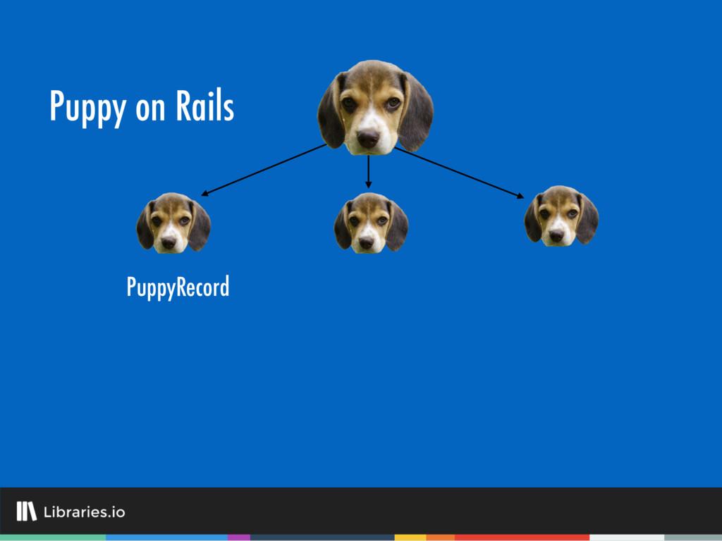 Puppy on Rails PuppyRecord