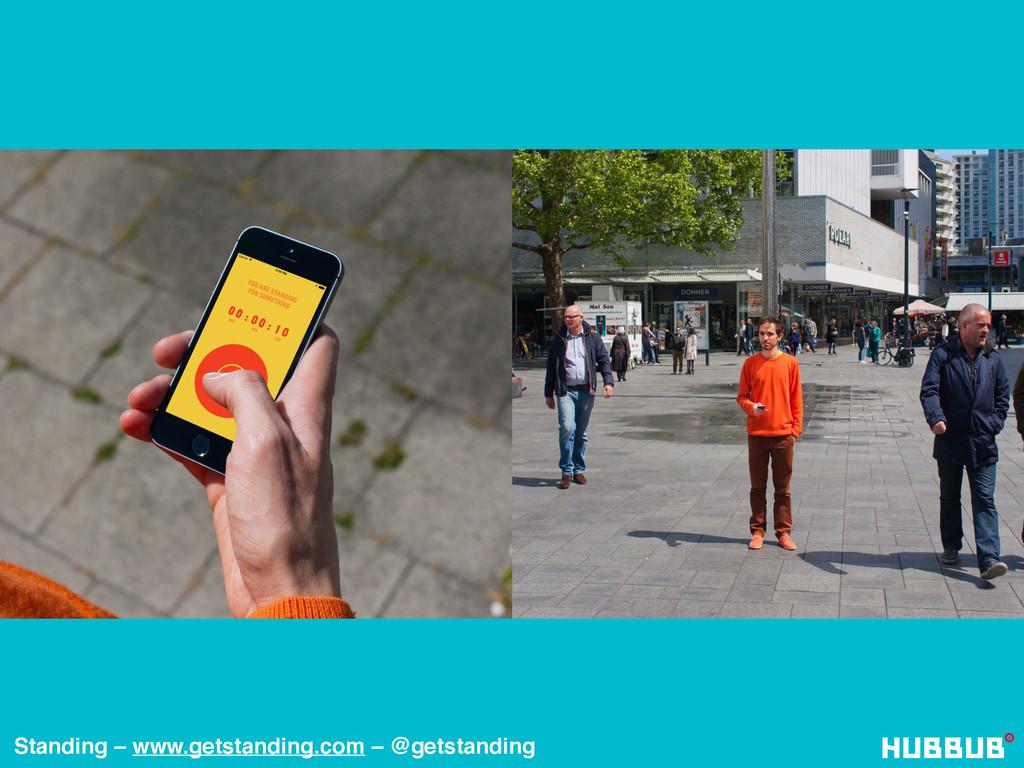 Standing – www.getstanding.com – @getstanding