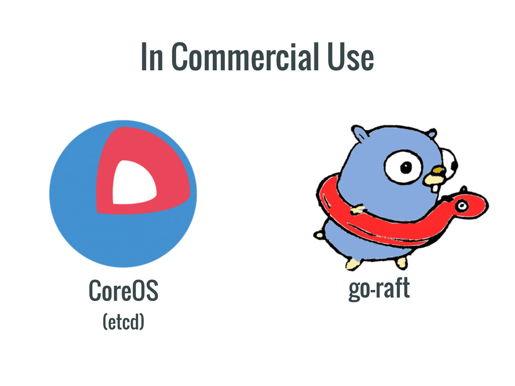 In Commercial Use CoreOS (etcd) go-raft