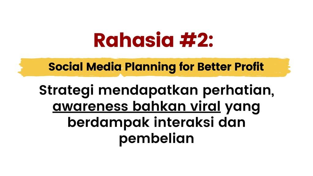 Social Media Planning for Better Profit Strateg...