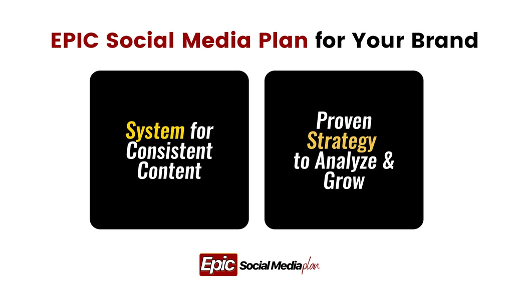 System for Consistent Content EPIC Social Media...