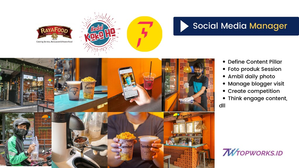 Social Media Manager Define Content Pillar Foto...