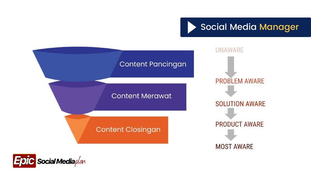 Social Media Manager plan Social Media Epic Epic