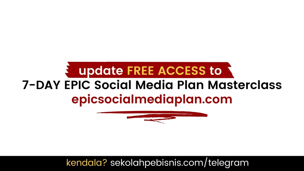 update FREE ACCESS to 7-DAY EPIC Social Media P...