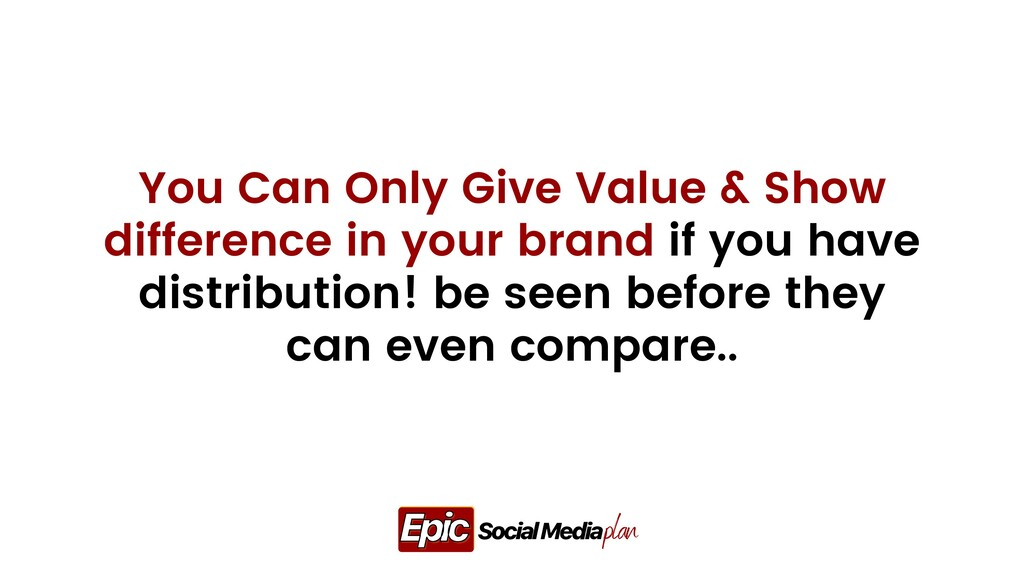 You Can Only Give Value & Show difference in yo...