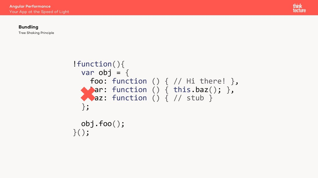 !function(){ var obj = { foo: function () { // ...