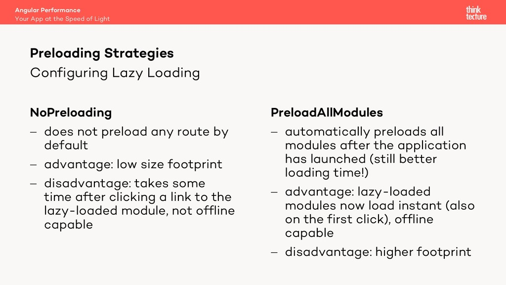 Configuring Lazy Loading NoPreloading - does no...