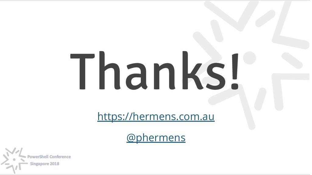 132 @phermens Thanks! https://hermens.com.au @p...