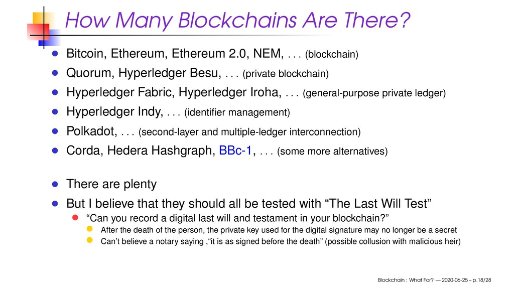 How Many Blockchains Are There? Bitcoin, Ethere...