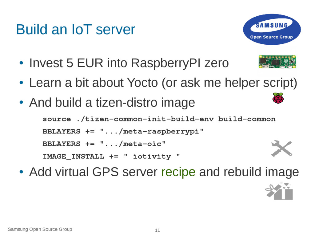 Samsung Open Source Group 11 Build an IoT serve...