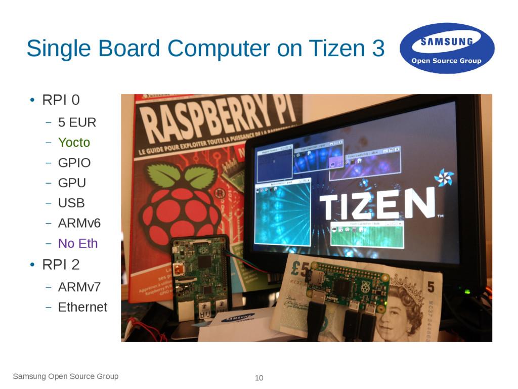 Samsung Open Source Group 10 Single Board Compu...