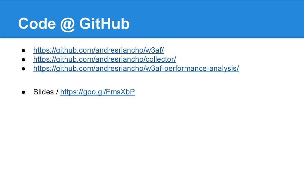 Code @ GitHub ● https://github.com/andresrianch...