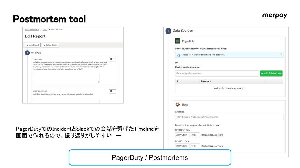 Postmortem tool PagerDuty / Postmortems PagerDu...