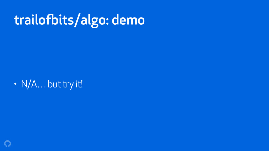 trailofbits/algo: demo • N/A… but try it!