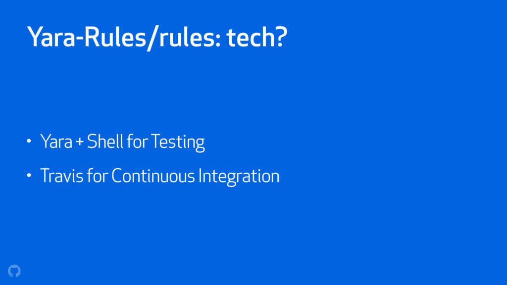 Yara-Rules/rules: tech? • Yara + Shell for Test...