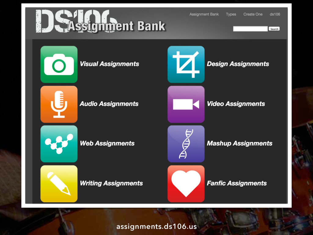 assignments.ds106.us
