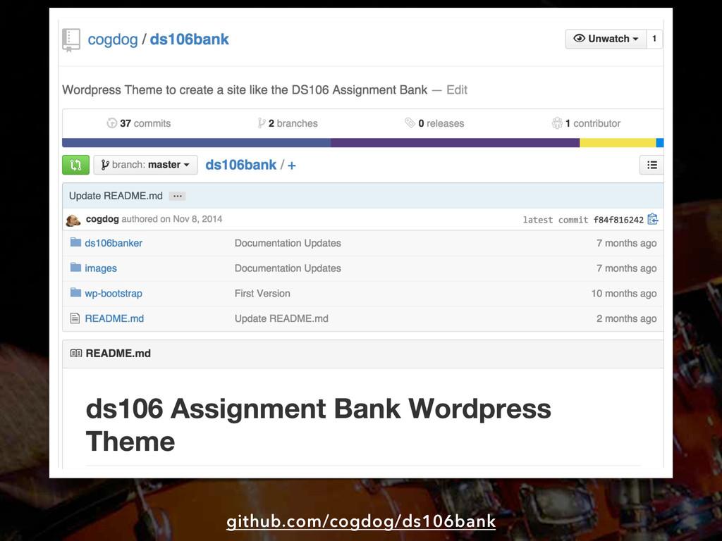 github.com/cogdog/ds106bank