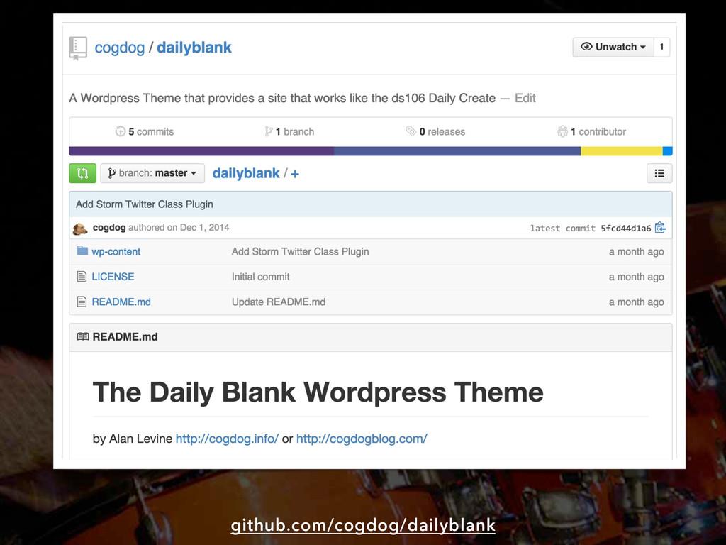 github.com/cogdog/dailyblank