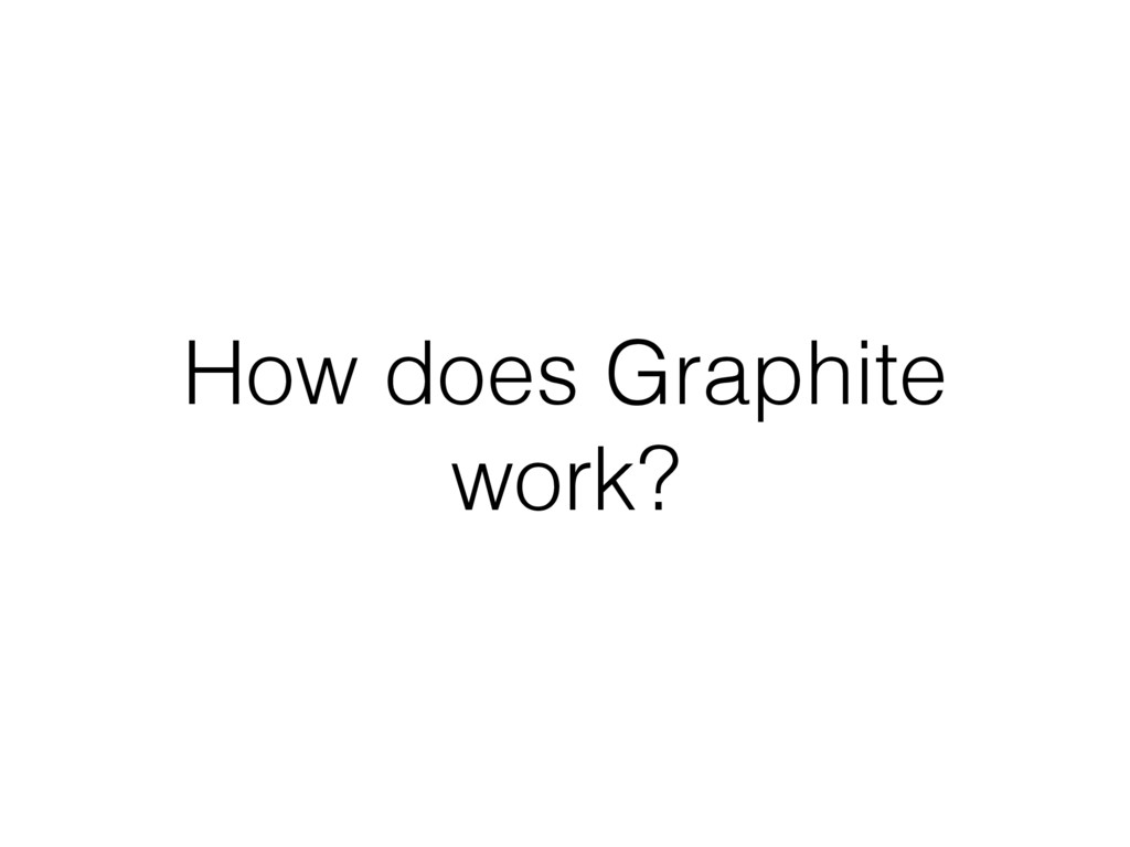 How does Graphite work?